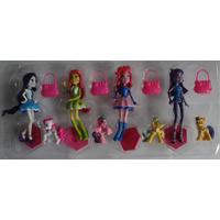 Brinquedo My Little Poney Kit Com 8 Lindos Personagens