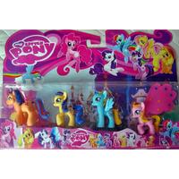 Brinquedos My Little Poney Kit Com 5 Personagens Lindos