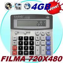 Calculadora Espiã 4gb Camera Filmadora, Filma E Tira Fotos