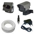 Kit Sistema De Vigilância Completo Para 1 Micro Câmera- Cftv
