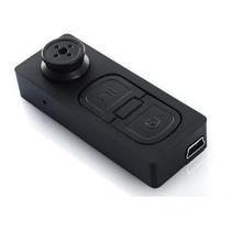 Botão Espião Micro Câmera Filmadora Fotos Mais Cartão 4gb