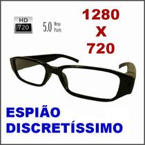 Óculos Espião Com Qualidade Hd 720p; Imperceptível. Discreto