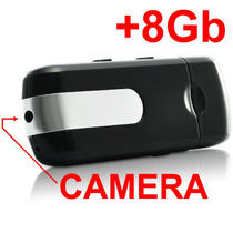 Pendrive Espiao Camera Espiã 8gb Filma Sensor Movimento Foto