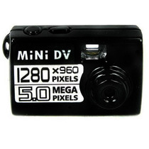 Mini Filmadora Detetive Hd Camera Dv Espiã Foto Video Voz