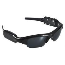 Óculos De Sol Esportivo Com Câmera Espiã + Micro Sd 8gb