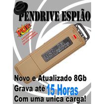 Gravador De Voz Espionagem Mini Gravador Camuflado 8gb Novo