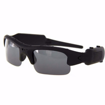 Óculos De Sol Espião Camera Filmadora Espiã Resolução