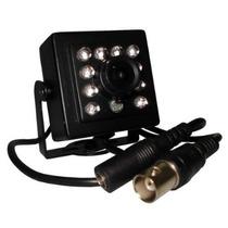 Mini Câmera 10 Leds Ccd Sony Com Infra Vermelho 600 Linhas