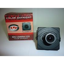 Mini Camera Sy Ccd Sony 1/3 3.6mm 480linhas