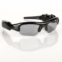 Óculos De Sol Espião Camera Filmadora Espiã Resolução Hd