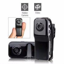 Mini Câmera Espia Full Hd 1080 X 720 Dpi - Ate 8 Horas Grav.