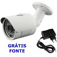 Camera Ccd Digital 700l 30 Mt Infra 1/3 Lente 3.6 Aprica Ir