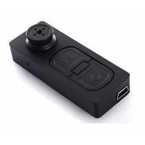 Micro Câmera Botão Espiao Filmadora Espiã Discreta Discreto