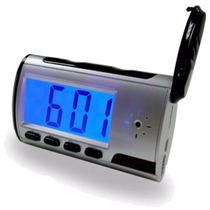 Relógio Espião - Micro Câmera Espiã - Segurança - Mesa 8 Gb