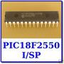 01 Microcontrolador Pic18f2550 * Pic 18f 2550 * 18f2550