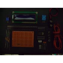 Kit Pic 16f628a+ Projeto Sensor De Umidade E Temperatura