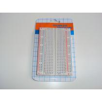 Protoboard 400 Pontos Com Identificação De Linhas E Colunas
