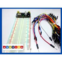 Kit Básico Para Iniciantes Em Eletrônica E Arduino.