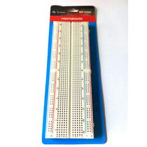 Protoboard 830 Furos Minipa Mp-830 Circuitos Eletronicos