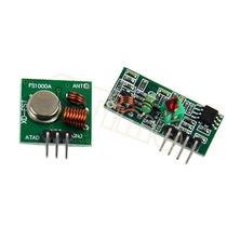 Módulo Rf Transmissor Receptor 433mhz Am Arduino Pic Avr Pc