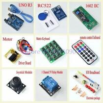 Kit Arduino Uno R3 + Módulo Rfid + Sensor Infravermelho