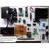 Kit Fonte E Acessórios P/ Arduino, Pic, Kit Sensors