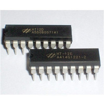 Ht12e + Ht12d Decoder P/ 433mhz Controle Rf / Arduino /pic