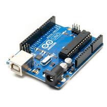 Arduino Uno R3 + Cabo Usb Automação + Plug P/ Bateria 9v