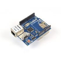 Módulo De Rede Ethernet Shield Wiznet W5100 Para Arduino