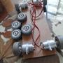 Kit 4 Rodas Robô Arduino Robótica