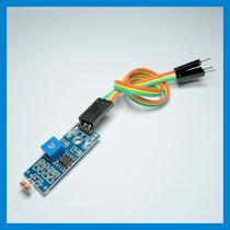 Sensor Luz + Cabos - Ldr Luminosidade Arduino