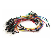 Jumper Wire 65 Pçs Fios Fiozinhos Arduino Macho Protoboard