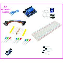 Kit Básico Arduino Uno R3 Automação Residencial C/ Cabo Usb