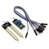 Sensor De Umidade Do Solo - Higrômetro P/ Arduino + Código