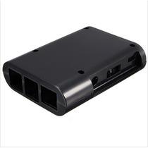 Case Raspberry Pi 2 B+ Plastico Abs Box Caixa Preto Gabinete