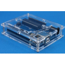 Arduino Uno R3 + Case De Acrílico + Cabo Usb Atmega328