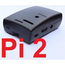 Case Abs Raspberry Pi2 (pi 2) P/ Mesa Ou Parede/atras Tv Etc