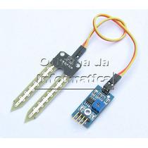 Arduino Higrometro Sensor + Cabo + Modulo. Uno Mega Due