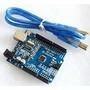 Arduino Ch340g - Uno R3 Atmega328 + Cabo Usb Pronta Entregua