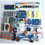 Kit Atualizado Arduino Uno R3 Nano Usb Protoboard Lcd Diodos