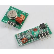 Módulo Rf Transmissor, Receptor 433mhz - Arduino, Pic, Atmel