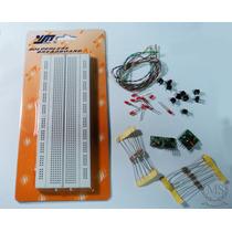 Kit Rf Eletrônica Protoboard Pode Se Usar Com Arduino