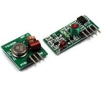 Módulo Rf Transmissor Receptor 433mhz Arduino Pic Raspberry
