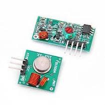 Módulo Rf Transmissor Receptor 433mhz, Arduino