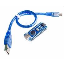 Arduino Nano 3.0 Atmega328 Ch340g Com Cabo Mini Usb