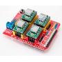 Placa Cnc Arduíno Shield V3 Para A4988 Impressora 3d