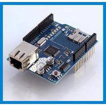 Ethernet Shield Leitor Sd + Cod Exemp! Arduino Internet Rede