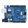 Placa De Desenvolvimento Arduino Uno R3 Atmega328p - Sem...