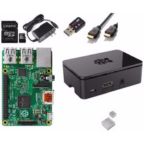 Raspberry Pi 2 B 1 Gb + Fonte + Black Case + Wifi + Hdmi