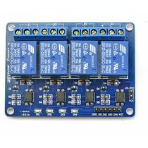 Módulo Relé 4 Canais 5v Automação Com Arduino Raspberry Pic